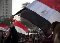 Demonstrators gathered at Tahrir Square in Cairo to mark International Women's Day in Egypt and call for gender equality and women's rights in the country. Cairo, Egypt.
